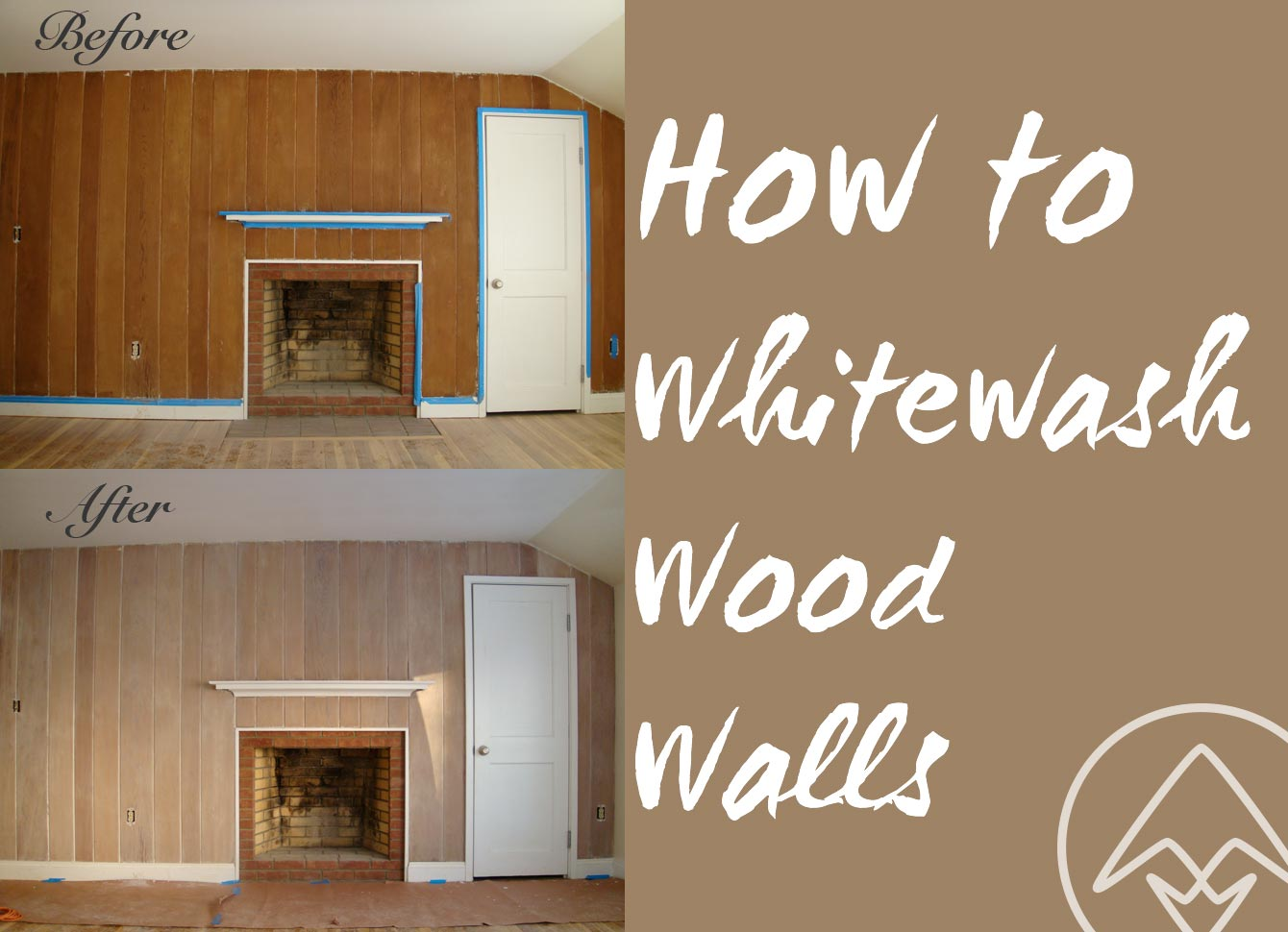 How To Whitewash Or Pickle Wood Walls Annick Magac