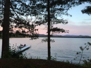 Adirondacks at dusk